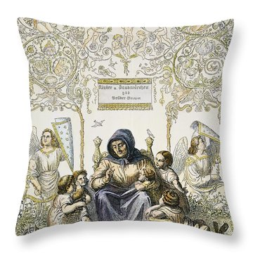 Grimms Fairy Tales Throw Pillow