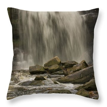 Grindstone Falls Throw Pillow