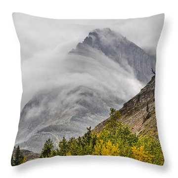 Grinnell Cloud Wrap Throw Pillow