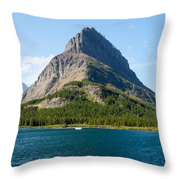 Grinnell Point Throw Pillow by John M Bailey