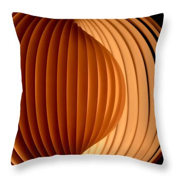Groovy Abstract 5 Throw Pillow by Newel Hunter