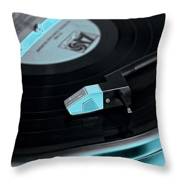 Groovy Baby Throw Pillow