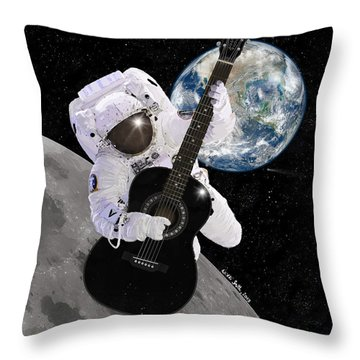 Ground Control To Major Tom Throw Pillow