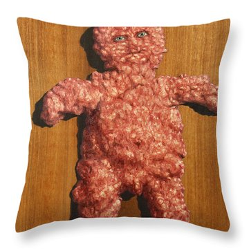 Ground Me Throw Pillow by James W Johnson