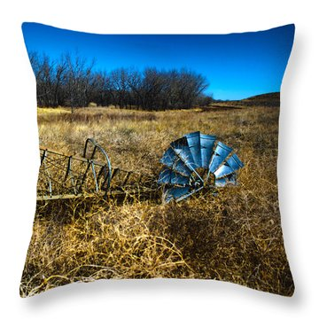 Grounded-hdr Throw Pillow
