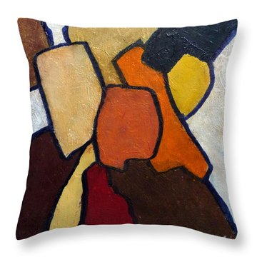 Group Hug Throw Pillow by Jim Whalen