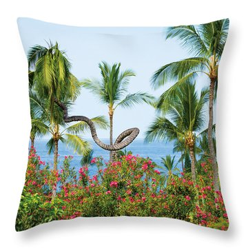 Grow Your Own Way Throw Pillow by Denise Bird