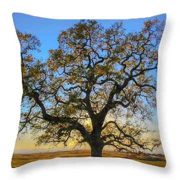 Growing In Life Throw Pillow
