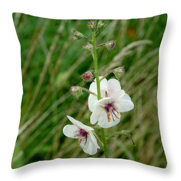 Growing In Wild Throw Pillow