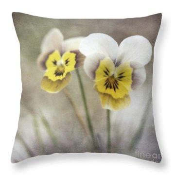 Growing Wild Throw Pillow by Priska Wettstein