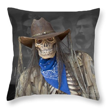 Gruesome Greg Throw Pillow