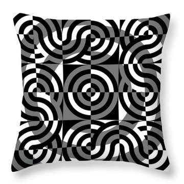 Gs 3 Throw Pillow by Mike McGlothlen