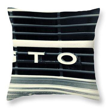 GTO Throw Pillow by Karol Livote