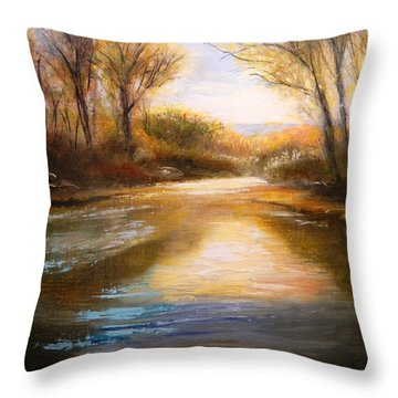 Guadalupe Sunrise Throw Pillow