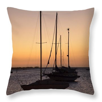 Guancha I Throw Pillow