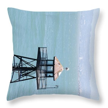 Guard Stand Throw Pillow by George Mount