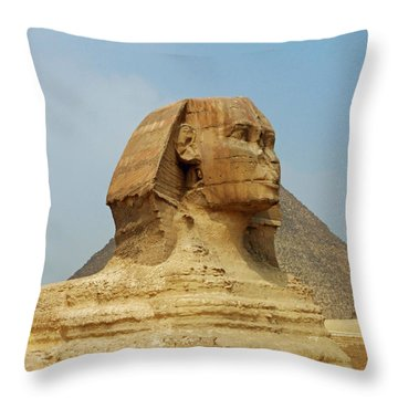 Guardian II Throw Pillow by Anthony Baatz