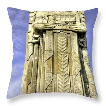 Guardian Of Traffic - 5 Throw Pillow