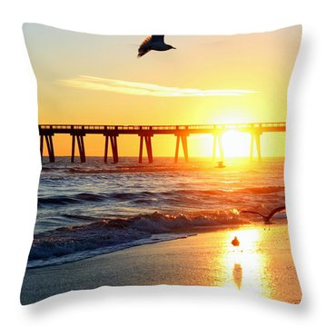 Guardians Of The Gulf Throw Pillow