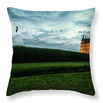 Guestrow Panorama Throw Pillow