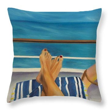 Guided By Your Dreams Throw Pillow by Marcel Quesnel
