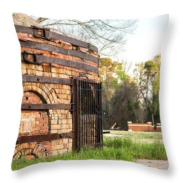 Guignard Brick Works-1 Throw Pillow