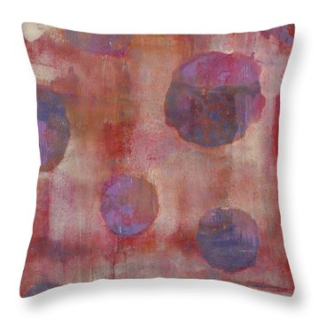 Throw Pillow featuring the mixed media Guilty by Lisa Noneman