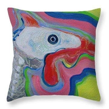 Guinea Hen Throw Pillow