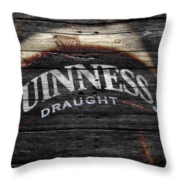 Guiness Throw Pillow by Joe Hamilton