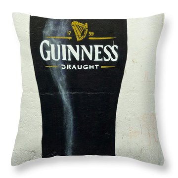 Guinness - The Perfect Pint Throw Pillow