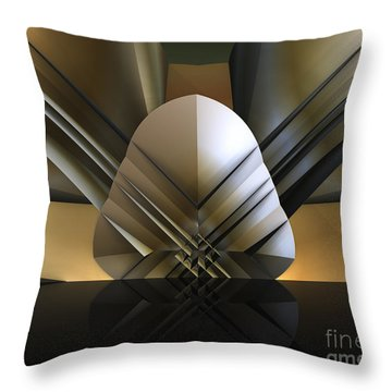 Gulf Coast Fan Throw Pillow