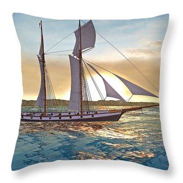 Gulf Of Mexico Area In The World Playground Scenery Project  Throw Pillow