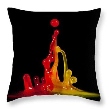 Gummy Drops Throw Pillow