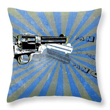 Gun 17 Throw Pillow