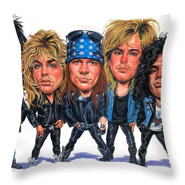 Axl Rose Throw Pillows