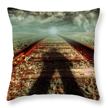 Gunslinger Throw Pillow