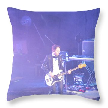 Gutair Player For Royal Taylor Throw Pillow