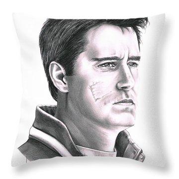 Guy Boucher Throw Pillow by Murphy Elliott