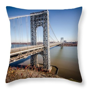 GWB Throw Pillow