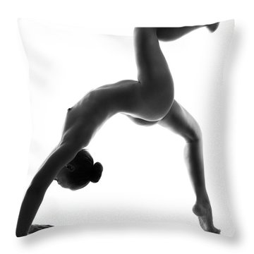 Fine Art Nude Throw Pillows