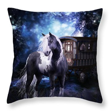 Gypsy Dreaming Throw Pillow