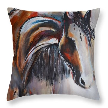 Gypsy II Throw Pillow by Cher Devereaux