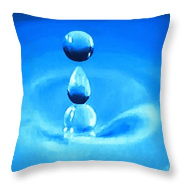 H20 Throw Pillow