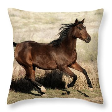 Habiba  Throw Pillow