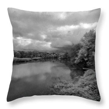 Hackensack River Throw Pillow