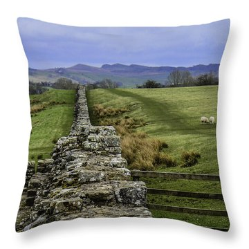 Hadrian's Wall Throw Pillow