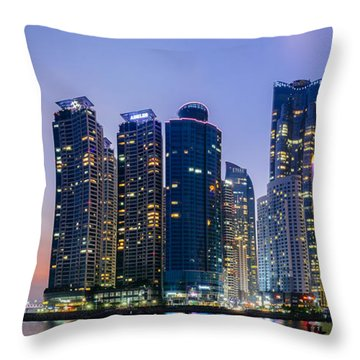 Haeundae Throw Pillow