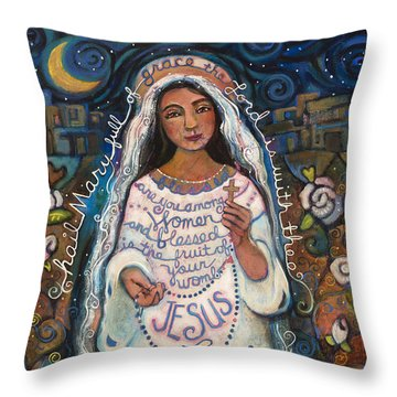 Rosaries Throw Pillows