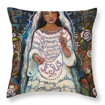 Hail Mary Throw Pillow