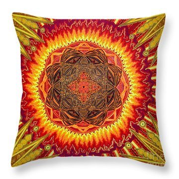 Hail To My African Sun Throw Pillow